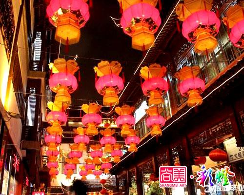 2016年12月5日苍溪春节定制宫灯