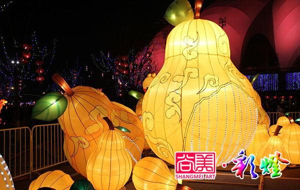 2017年1月16日重庆春节水果花灯