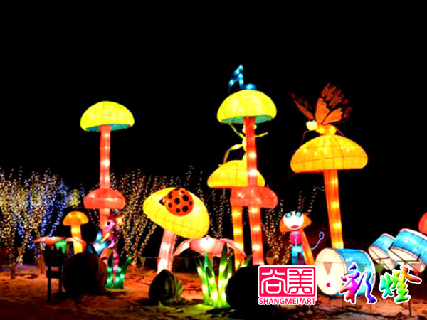 2015年2月18日威远公园小花灯
